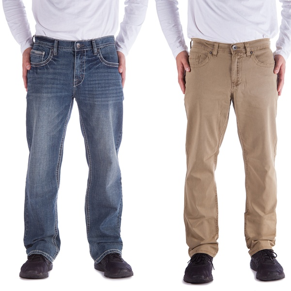 21347e3dd7b Axel Men's Slim-, Straight, or Relaxed-Fit Jeans (Size 32x34) | Groupon