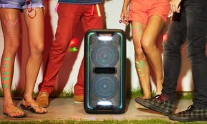 Sony High-Powered Extra Bass Bluetooth Speaker with Party Lights