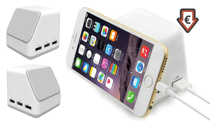 Groupon Goods Global GmbH: Six-Port Magnetic Charging Hub for €19.99 With Free Delivery (56% Off)