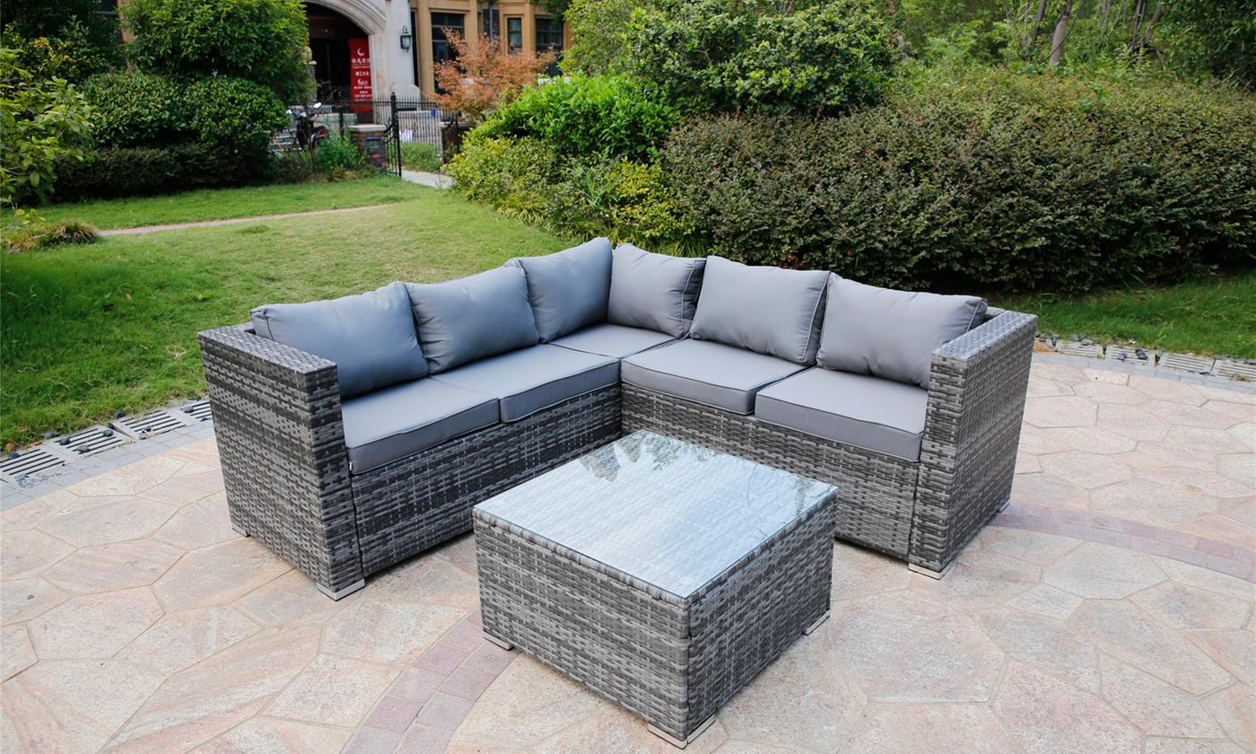 sicily corner sofa set