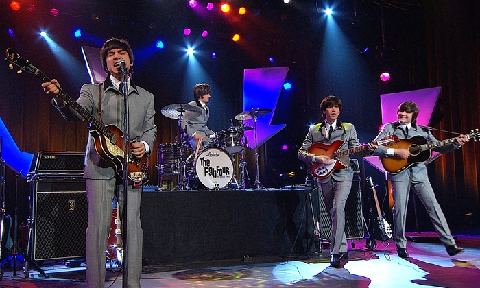 The Fab Four- The Ultimate Tribute - Nevada County Fairgrounds: The Fab Four – The Ultimate Tribute at Nevada County Fairgrounds on Friday, June 27, at 8 p.m. (Up to 58% Off)