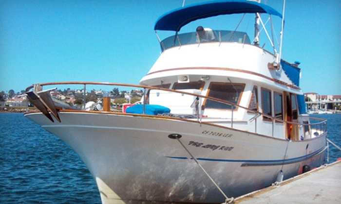 The Long Run Sportfishing - Midway District: Three-Hour Sportfishing Trip for Two or Four from The Long Run Sportfishing (Up to 61% Off)