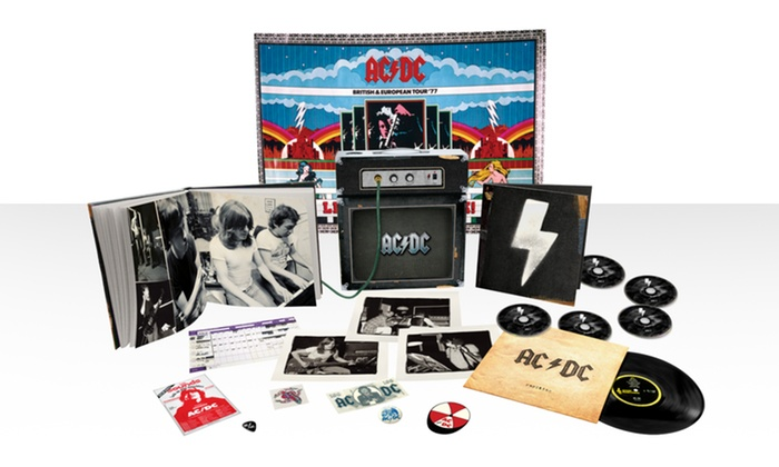 AC/DC Backtracks Amp Set: AC/DC Backtracks Deluxe Collector's Edition Amp Set