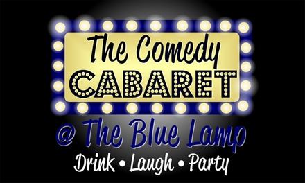 Saturday Night Comedy Show Ticket for Up to Four at The Comedy Cabaret at The Blue Lamp