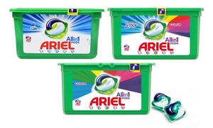 Ariel Pods Alpine, Color et Lenor