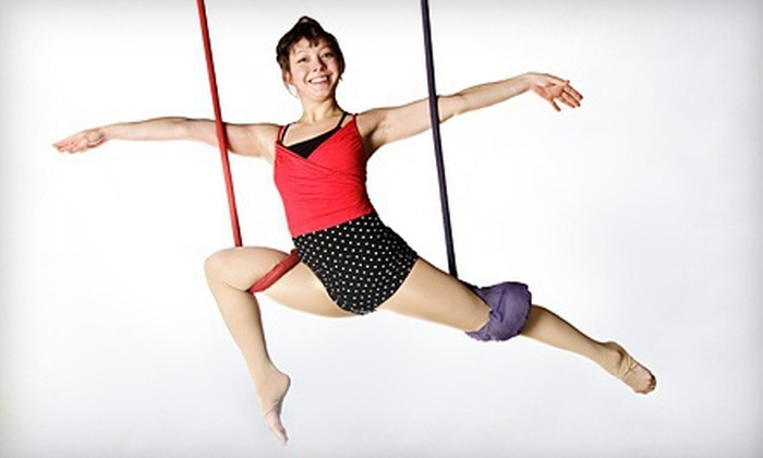 Circus Arts Institute - Kirkwood: Beginners' Circus Arts Fitness Class for One or Two at Circus Arts Institute (Up to 55% Off)