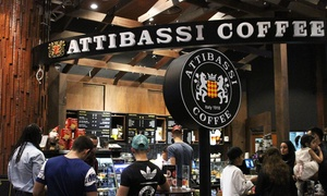 Attibassi Coffee Ski Dubai: Choice of Two or Four Drinks at Attibassi Coffee Ski Dubai (Up to 50% Off)