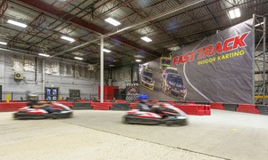 Up to 48% Off Go-Kart Races at Fast Track Indoor Karting at Fast Track Indoor Karting - Edmonton, plus 6.0% Cash Back from Ebates.