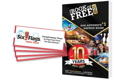 Book of Free Savings Book and One, Two, or Four General-Admission Theme Park Tickets (Up to 79% Off)