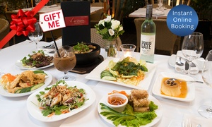 VietCharm: 7-Course 'Taste of VietCharm' Degustation + Bottle of Wine for Two ($69) or Four People ($99) at VietCharm (Up to $249)