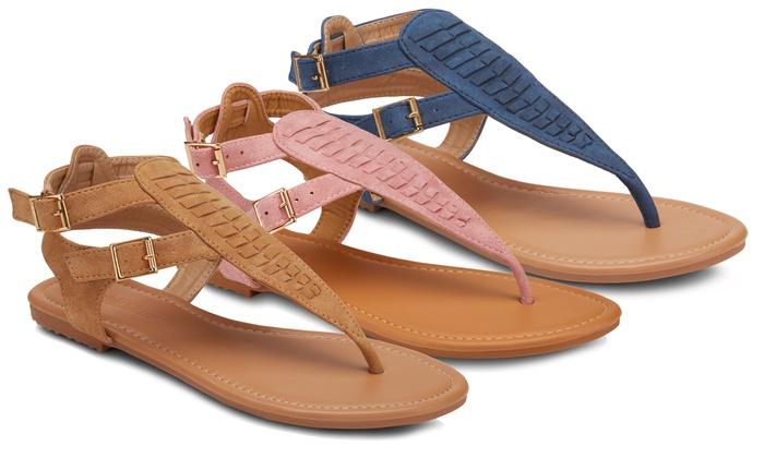 1c9590b492cd Olivia Miller Brava Women s Dual Buckle Sandals