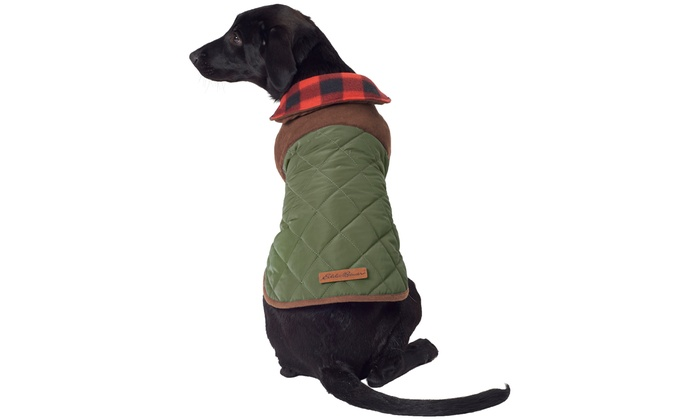Up To 36 Off On Eddie Bauer Quilted Dog Jacket Groupon Goods
