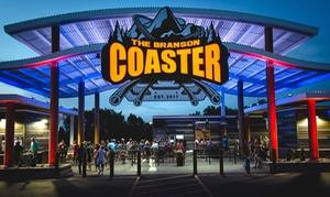 44% Off Coaster Rides at The Branson Coaster at The Branson Coaster, plus 6.0% Cash Back from Ebates.