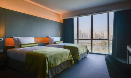 Sharjah: 1 3 Nights for 2 Adults and 2 Children with Half Board at 5* 72 Hotel
