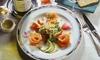 Le Saint-Sauveur - Rennes: Entrée, plat et dessert au choix sur la carte pour 2 ou 4 personnes, dès 39,90 € au restaurant Le Saint-Sauveur