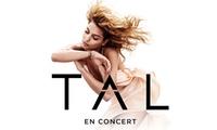 1 place en catégorie 1 pour le concert de Tal, le mardi 28 novembre 2017 à 20h à 25 € à Brest Arena