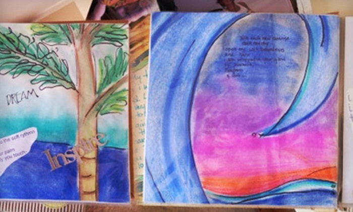 Bali Studios - Cocoa Beach: Four-Hour Art-Journaling Class for One, Two, or Four at Bali Studios in Cocoa Beach (Up to 64% Off)