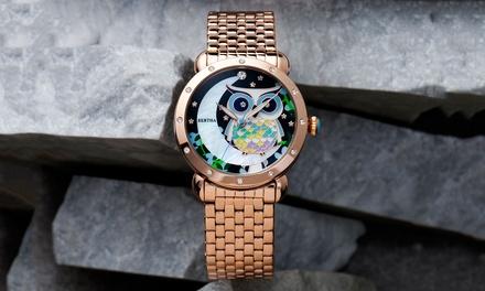 a7d5f61a70a6 Reloj Bertha Ashley para mujer con correa de acero inoxidable