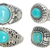 Turquoise Ring in Sterling Silver by Pori (Multiple Styles Available)