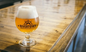 Rivertown Brewing Company: Brewery Experience with Tastings for Two or Four at Rivertown Brewing Company (Up to 55% Off)