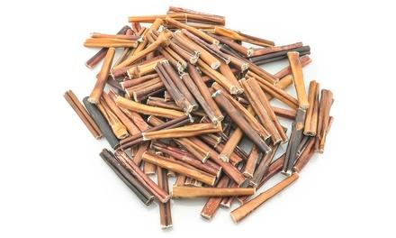 100 natural 6 bully sticks 8 oz groupon. Black Bedroom Furniture Sets. Home Design Ideas