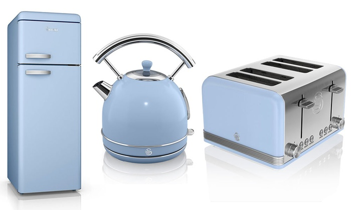 Fridge Freezer Kettle And Toaster Groupon