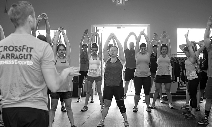CrossFit Farragut - Farragut: Intro to CrossFit Foundations Course with Optional Month of Unlimited Classes at CrossFit Farragut (Up to 76% Off)