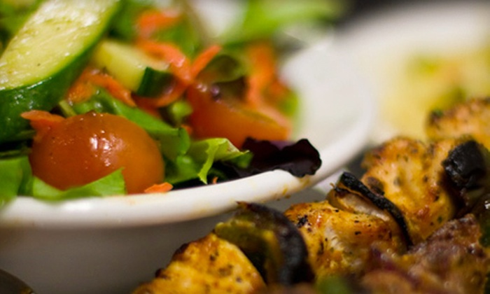 Charqui Grill - Kitsilano: Caribbean Cuisine for Two or Four at Charqui Grill (Up to 54% Off)