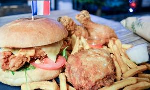 "Saïko Chicken 2: Menu cheeseburger ou hamburger pour 2 ou menu ""4 Friends"" pour 4 dès 12 € au restaurant Saïko Chicken 2"