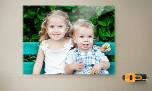 82% Off Glass Prints with Free Laser Level