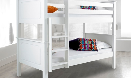 Vancouver Bunk Bed Frame or with Two Spring Mattresses With Free Delivery