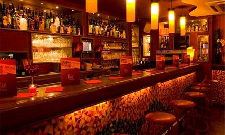 4 tapas avec 2 cocktails ou 2 verres de vin au choix à 19,90 € au restaurant La Pirada