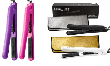 Marquee Beauty's Flat Iron with Thermal Travel Pouch 9121ca8a-888c-11e6-b366-00259060b5da
