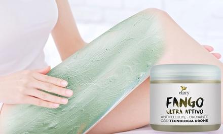 Fino a 3 confezioni da 500 ml di fango anti cellulite ultra attivo con azione mirata tech Efory Cosmetics