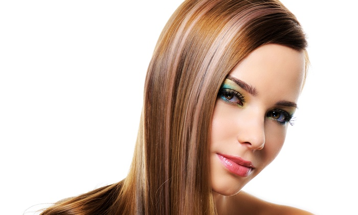 Hollywood Beauty Center - Mid-City: Haircut and Conditioning Treatment with Optional Partial or Full Highlights at Hollywood Beauty Center (Up to 59% Off)