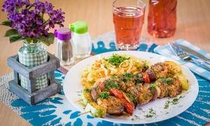 Smaczny Grill: Kuchnia ormiańska: zupa i dowolne drugie danie dla 2 osób za 31,99 zł i więcej opcji w Smaczny Grill (do -33%)