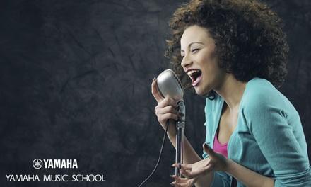 Yamaha Music School: 4 o 6 lezioni chitarra elettrica, basso elettrico o canto (sconto fino a 70%). Valido in 13 sedi