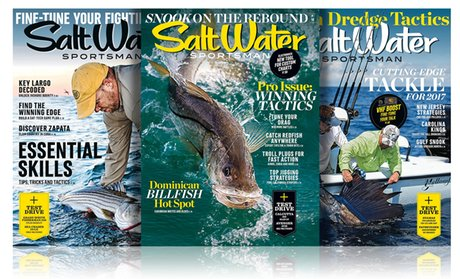 1-Year, 10-Issue Subscription to Salt Water Sports...