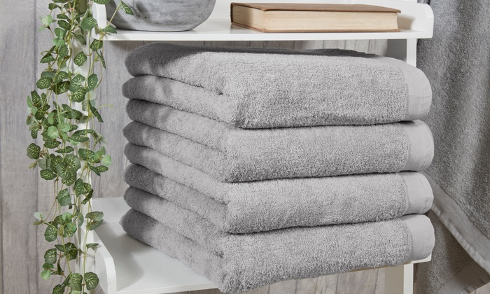 One, Two or Four Pieridae 500gsm Pure Cotton Towels