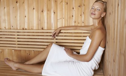 Infrared <strong>Sauna</strong> Session at Living Well Massage & Bodywork (Up to 58% Off)