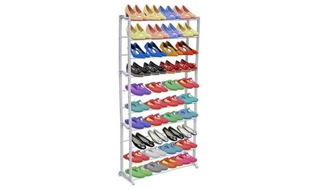 1 o 2 zapateros / estantes de 10 niveles con capacidad para hasta 40 pares de zapatos