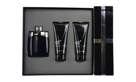 Montblanc Legend Fragrance Gift Set for Men (3-Piece)