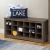 Shoe Storage or Cubby Bench