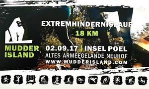 Mudder Island: Ticket für 1 oder 2 Personen für den Extremlauf Mudder Island am Samstag, den 02.09.2017 (bis zu 50% sparen)