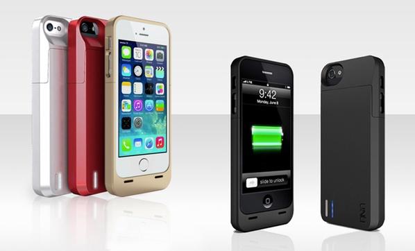separation shoes 9cf96 a4bd8 uNu DX 2,300mAh Protective Battery Case for iPhone 5/5s. Multiple ...
