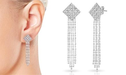 One or Two Pairs of Philip Jones Crystal Chandelier Earrings