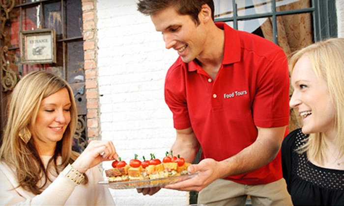 Food Tours of America - Dallas: $48 for an Uptown Dallas Food Tour for Two from Food Tours of America ($90 Value)