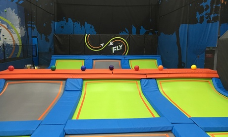 One Hour of Jump Time for One Person or Two People at Fly Trampoline Park (Up to 25% Off)