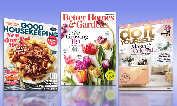 Home-Decor Magazine Subscription - Better Homes & Gardens, Good