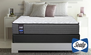 Sealy Response Firm or Plush Mattress Set with Posturepedic Technology